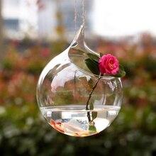 Домашнее окно подвесная ваза стеклянная для цветов водное растение Террариум стеклянная подвесная гидропонная ваза домашняя офисная украшение домашний декор