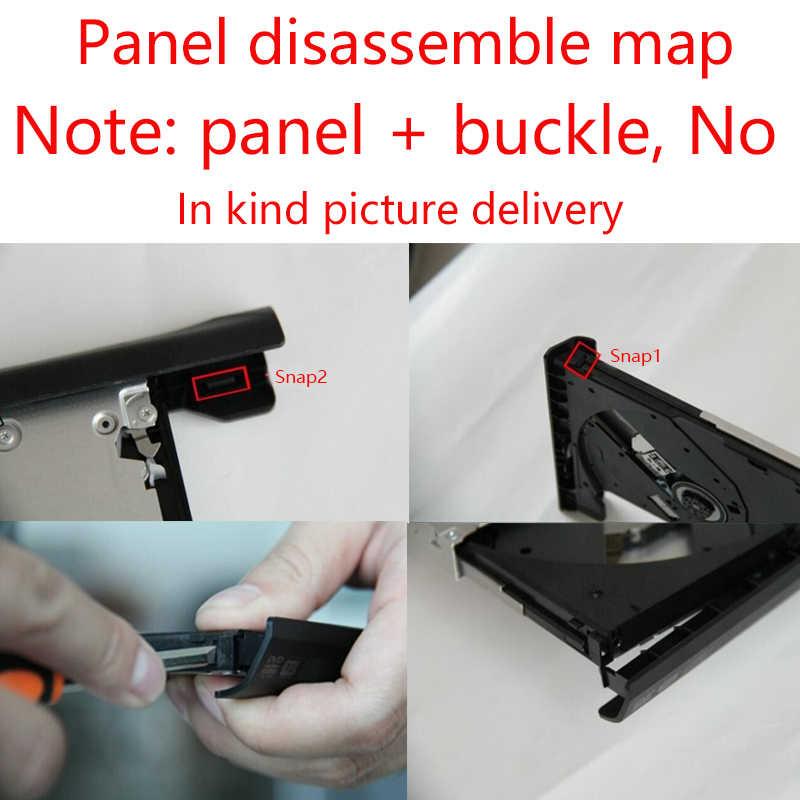חדש 12.7mm SATA 2nd SSD HDD Caddy עבור ACER Aspire V3-771G V3-772 V3-772G V3-571G V3-471G קשה דיסק כונן Caddy