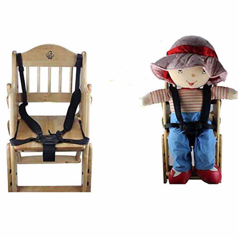 Niño de asientos de la silla de alimentación asientos cinturón de la silla de bebé portátil cinturón