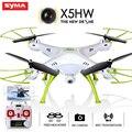 Hot syma kvadrokopter x5hw fpv rc quadcopter zangão com câmera hd Função WI-FI FPV X5SW Atualize RC dron Helicóptero Pairar RC Qua