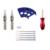 ITATOO Canetas Tatuagem Kit Máquina de Tatuagem Barato Conjunto Kit de Tatuagem Máquina de Tinta Suprimentos Arma Para Iniciantes TK104013 Arma Profissional
