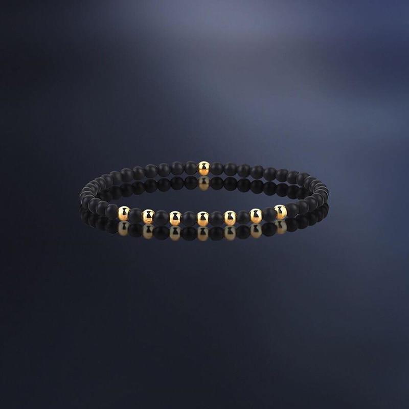 Мужские и женские браслеты с бусинами, 6 мм, летний Шарм-браслет для мужчин и женщин, специальный подарок, 2019