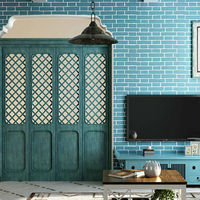 3 Colors Modern 3D Brick Off Foam Thick Embossed Vinyl Wall Covering Roll Background Wall Living
