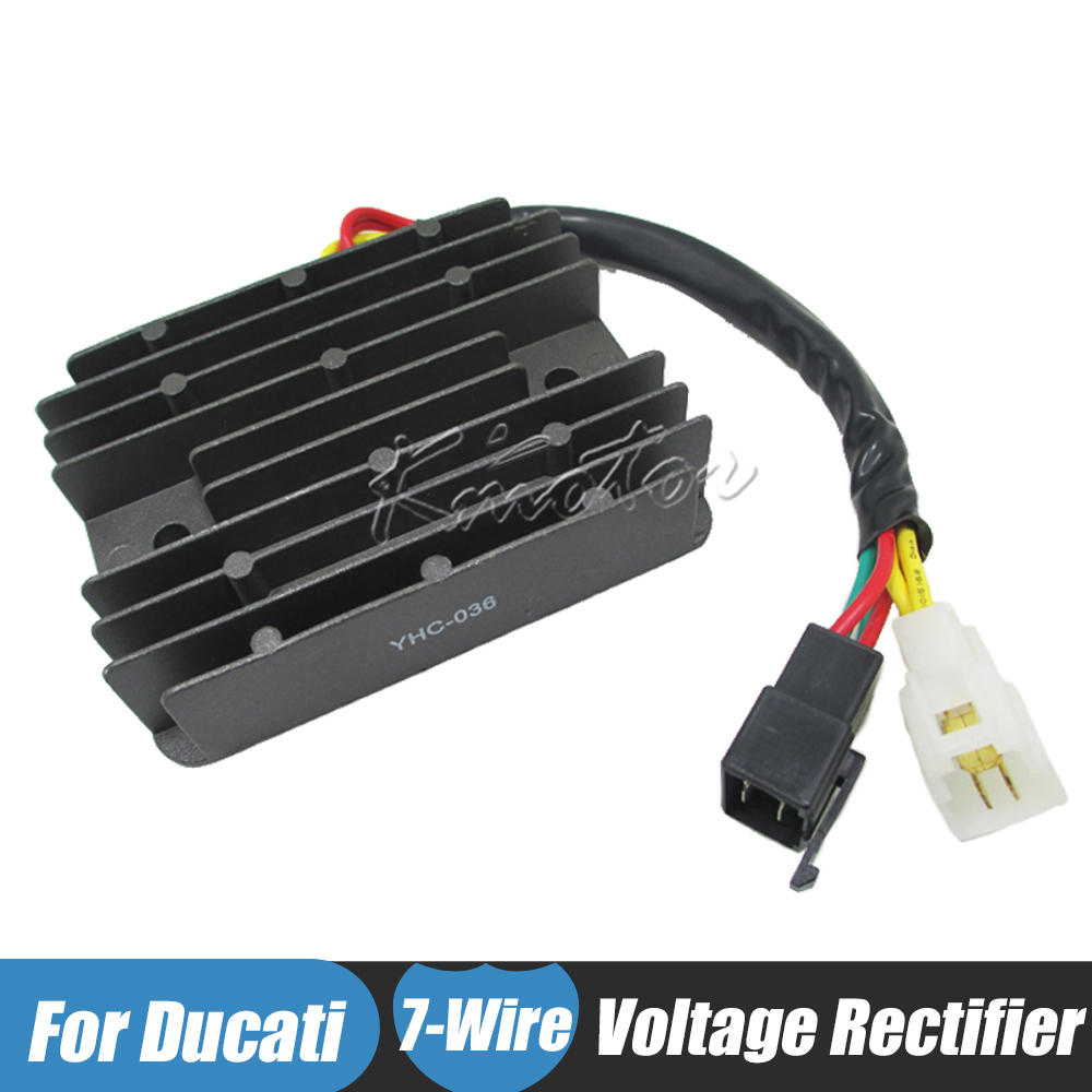 Motorcycle Regulator 12v Voltage Rectifier For Ducati Monster 600 900 Wiring 1995 Dark 696 750 1100 1000 S4rs S4r S2r Multistrada Ds1000 In Motorbike Ingition From