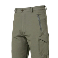 Men Outdoor Pants Lurker Shark Skin Soft Shell Camouflage Waterproof Mens Pants Army Green