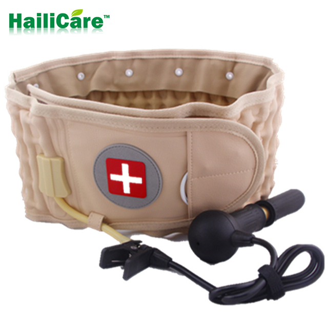 New Pain Lower Massager Medical Decompression Back Belt Lumbar Traction Device Back Brace brace & supports Health monitors