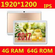 B109 3G Phone Tablet PC 10 inch MTK8752 Octa Core 4GB RAM 64GB ROM Android 6.0 1920*1200 GPS Dual Camera 3G Phone Tablet 10″