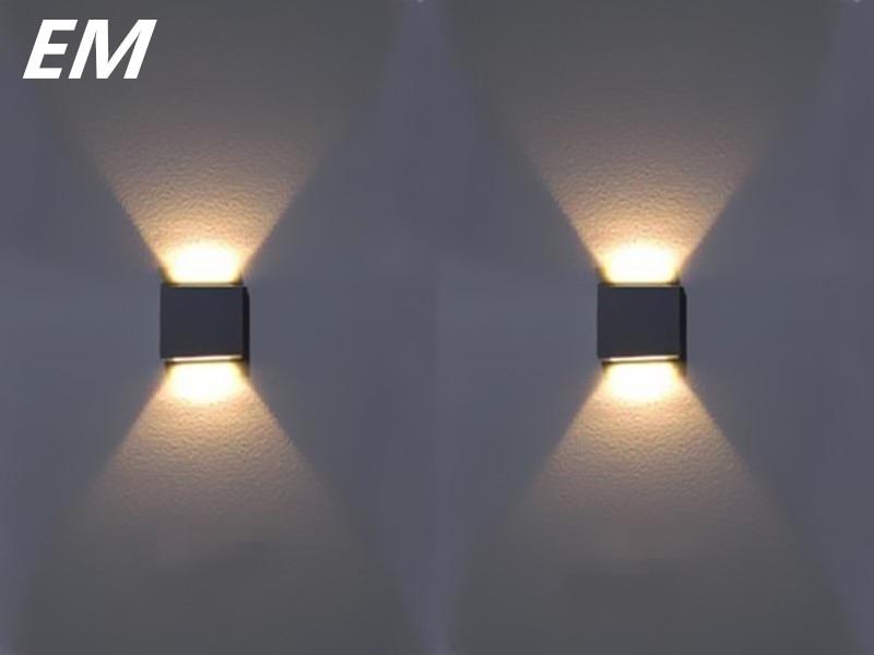 Lâmpadas de Parede para cima e para baixo Direção da Sombra : Acima & Abaixo