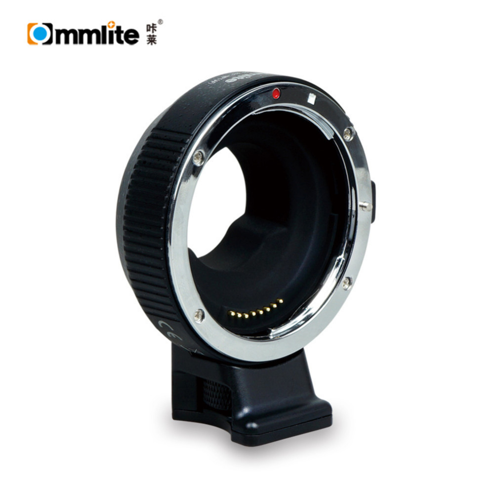 цена на Commlite CM-AEF-MFT Autofocus Lens Adapter for Canon EF / EF-S Lens to M4 / 3 Camera Panasonic GH3 GH4 GH5 GX7 GM Olympus PL5