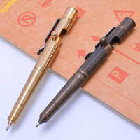 Multidunctional Pocket Tungsten Steel Attack Head Glass Breaker Survival Pen Outdoor Sports defensa personal Tactical Tools