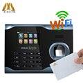 Biometrico di Impronte Digitali Presenza di Tempo Wifi Con 13.56Mhz IC Card Per ZK U160 Dispositivo di Presenza di Tempo In Riconoscimento Delle Impronte Digitali