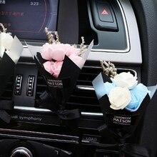 Автомобильный освежитель воздуха, ручной работы, сухой цветок, кондиционер на выходе, духи, клипса, авто аксессуары, Ароматический диффузор, автомобильный Стайлинг