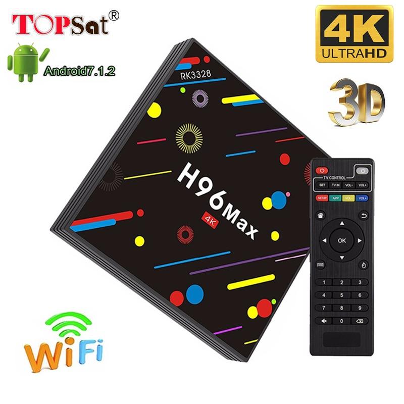 Здесь продается  H96MAX RK3328 Android Tv Box support Europe subscription one year Italy UK France Sweden Israel Arabic iptv 4G/32G media player  Бытовая электроника