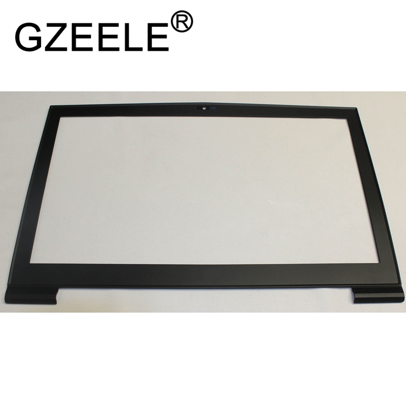GZEELE NEW FOR MSI GT73 GT73VR Lcd Front Bezel Frame Cover 307-7A1B211-Y85 BLACK new for msi gt72 1781 1782 lcd back cover 307 781a415 y311 307 781a417 y311 black