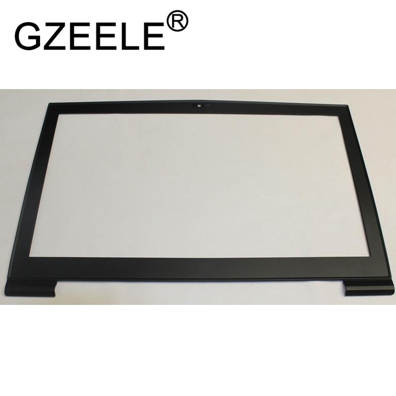 GZEELE NEW FOR MSI GT73 GT73VR Lcd Front Bezel Frame Cover 307-7A1B211-Y85 BLACK wierss золото для vivo v9 y85