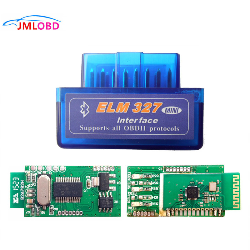 Super MINI ELM327 V1 5 Bluetooth ELM 327 Version 1 5 With PIC18F25K80 Chip OBD2 OBDII