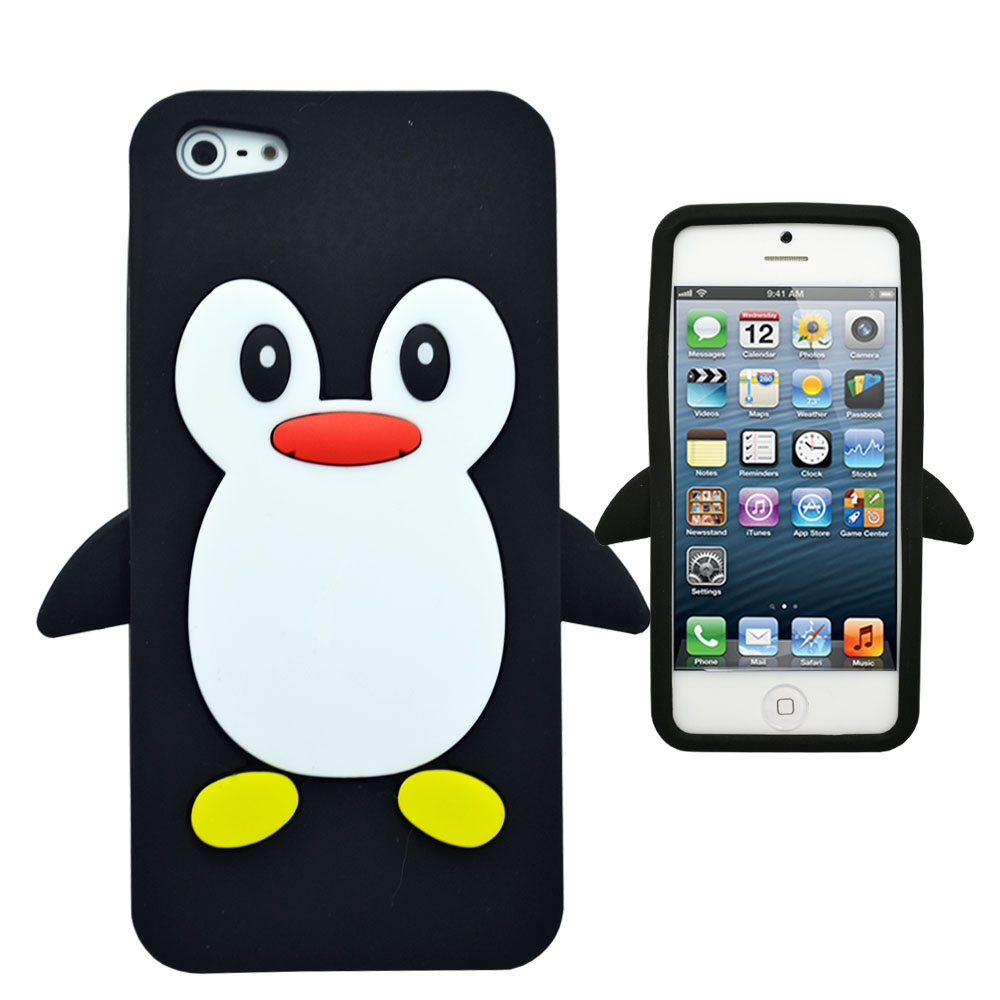 Online buy wholesale 3d penguin iphone 4 case from china for Case 3d online