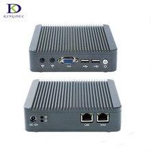 Dual LAN Портативный PC J1800 Настольный ПК бизнес промышленный компьютер с 4 ГБ Оперативная память SSD Linux