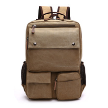 цена на Large Capacity Men Canvas Backpack Mochila Laptop Backpack Mountaineering Versatile Bag Travel Luggage Bag