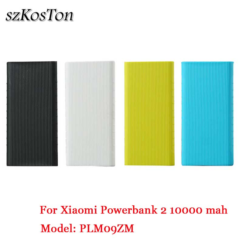 For Xiaomi Mi Power Bank 2 10000 MAh Case Rubber Sleeve Silicone Protective Case Cover For Xiaomi Power Bank 2 10000 Mah Pouch