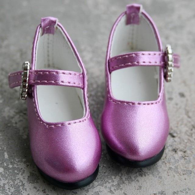 [wamami] 133# Purple 1/4 MSD AOD DOD BJD Dollfie Synthetic Leather Shoes