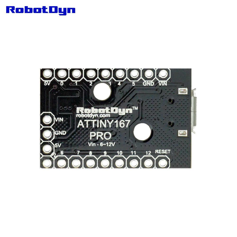 ATtiny167 Digispark compatible carte de développement, atminuscule 167 MicroUSB.