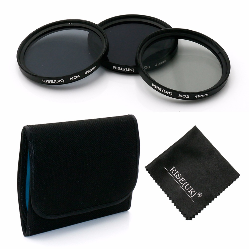 Universal 77mm UV CPL FLD Filters Case UK Seller