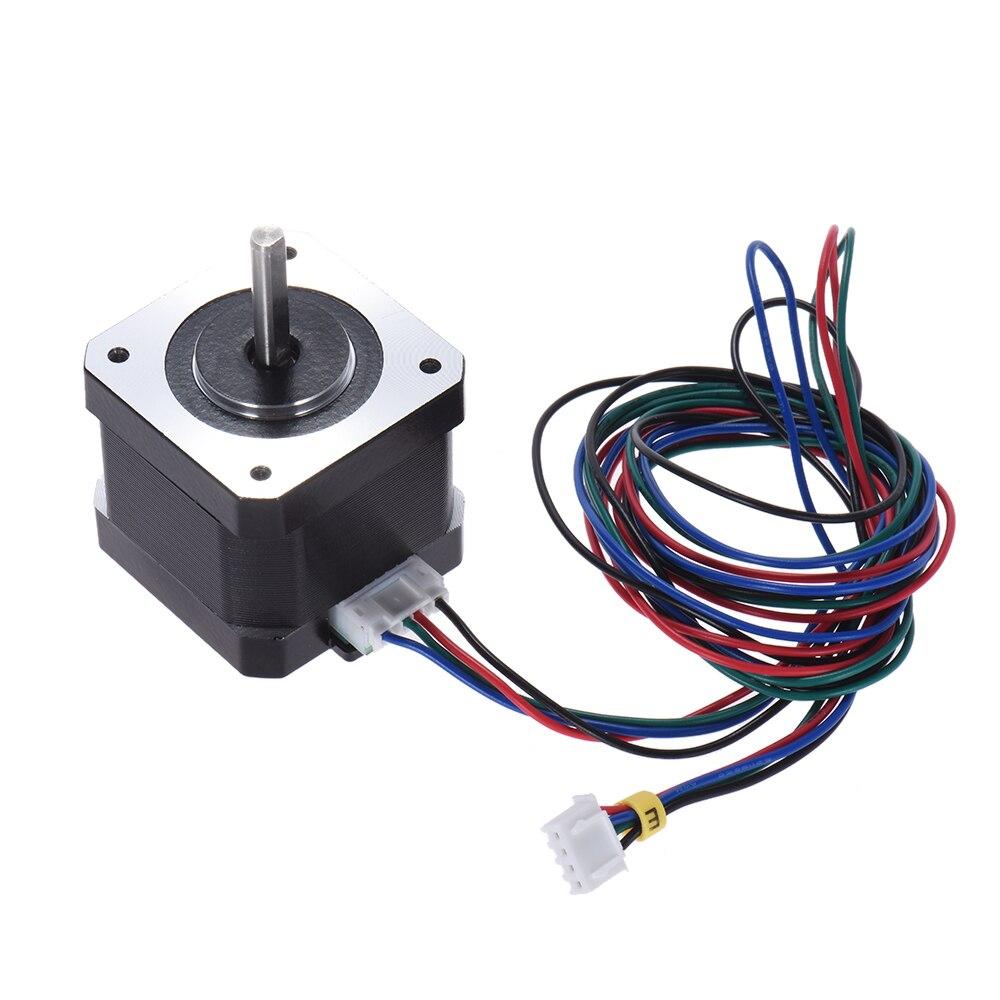 anet 42 stepper Motor Nema 17 Stepping Motors 1.8 Degree 0.9A 0.4N.M 42mm 90cm Lead Cable for a6 a8 e10 e12 3d printer parts