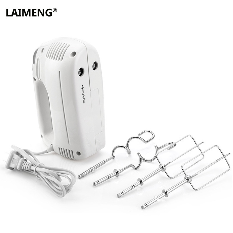LAIMENG 5 Speed Safe Dough Hand Mixer Egg Beater Food Blender Multifunctional Ultra Power Electric Kitchen Mixer S175 9 speed hand mixer