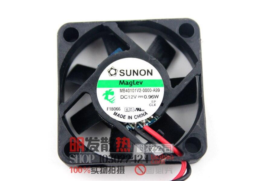 / MB40101V2-0000-A99 4010 12V 0.96W 2-wire Hydraulic Fan