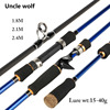 MH Super Hard Spinning Rod Line Wt 10 20Lb Baitcasting Rod Lure Rod 20 80gHand Fishing