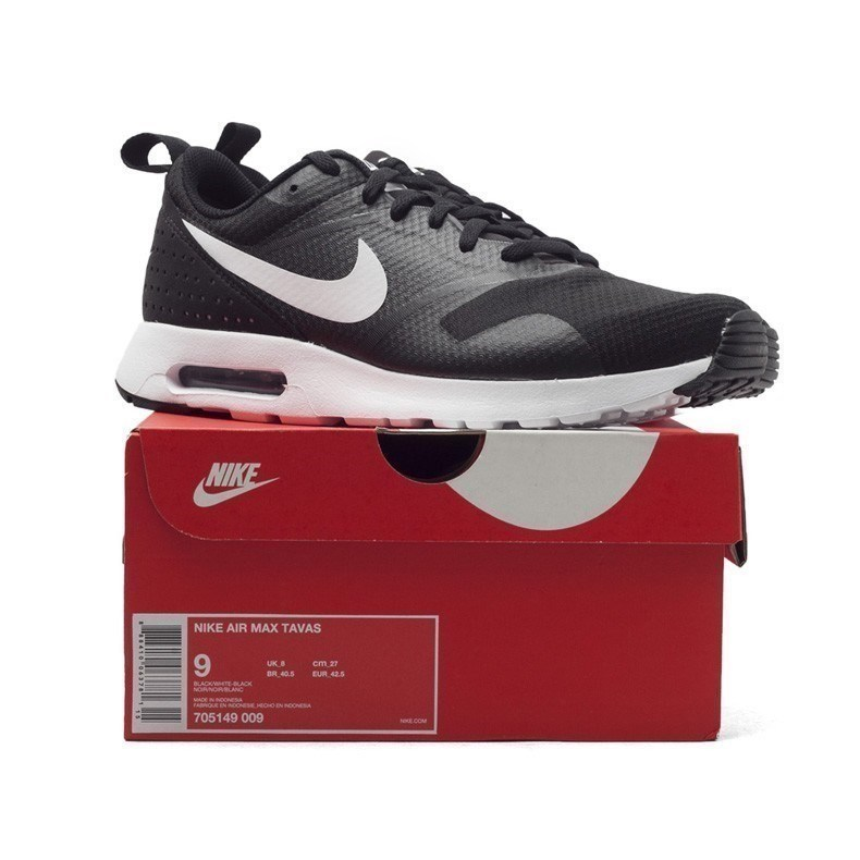 NIKE AIR MAX TAVAS Men s Breathable Running Shoes Sneakers Trainers 705149  009-in Running Shoes from Sports   Entertainment on Aliexpress.com  73e00c33ad