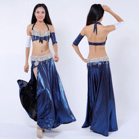 New Style Oriental Dancing Costumes Sexy Egyptian Tribal Belly Dance Outfits Set Dress For Women Dancers