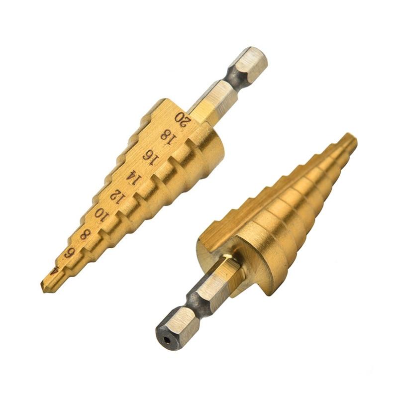DEKO Drill Bits Set 3pcs 1/4