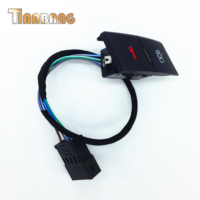 Free shipping Hight Quality Central locking Switch For AUDI A6 C5 OE: 4B1 962 107