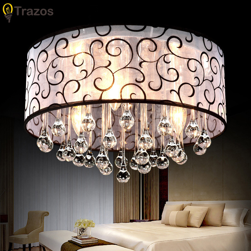 2017 modern crystal ceiling light fixtures for bedroom luminarias para sala ceiling lights design for home Free shipping modern multicolour crystal ceiling lights for living room luminarias led crystal ceiling lamp fixtures for bedroom e14 lighting