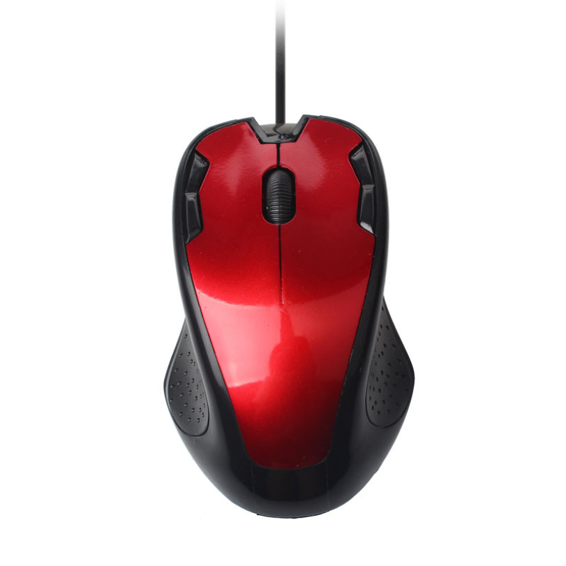 new Fashion 4 Colors Luxury 1800 DPI USB Wired Optical Gaming Mice Mouse For PC Laptop