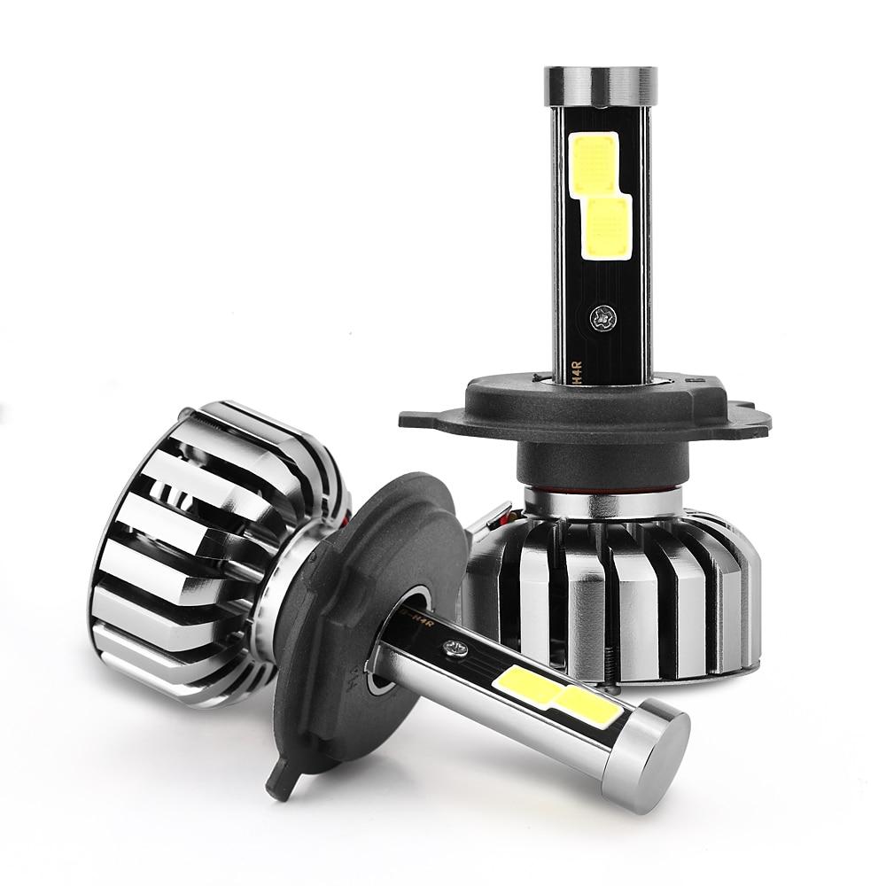 H4 H7 H11 H13 9005 9006 9007 Car Led Headlight 6000K COB 80W N7 High Power LED Bulbs H11 Fog Lamps for Opel BMW led para Auto
