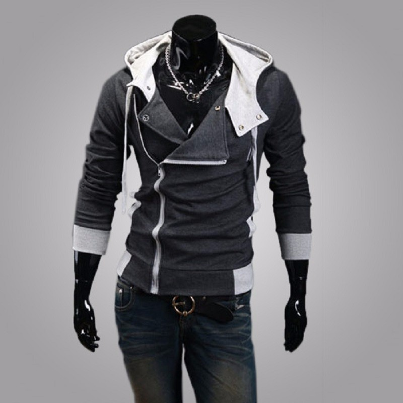 New Fashion Casual Men Hoodies Sweatshirt Male Tracksuit Hooded Jacket Casual Sports Male Hooded Jackets Moleton Assassins Creed1