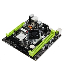Quad Core Products ITX Motherboard Built in A8 5545M CPU Game Graphic Card Support HDMI SSD
