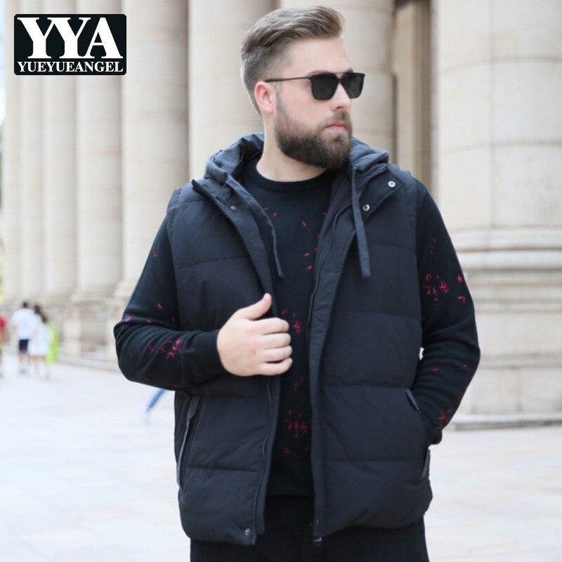 2019 High Quality Waistcoat Brand Clothes Men Duck   Down     Coats   Winter Ultra Light Duck   Down   Jacket Warm Vest Men Sleeveless   Coat
