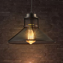 industry wind vintage lamps umbels iron lights bar restaurant living room cafe aisle hall stair pub club corridor chandelier american country club single head chandelier lamp wrought iron staircase corridor beauty salons upscale restaurant cafe bar