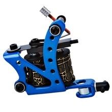 586ec6644a3da FGHGF Professional Cast Iron Tattoo Machine Gun 10 Wraps Coils Liner Shader