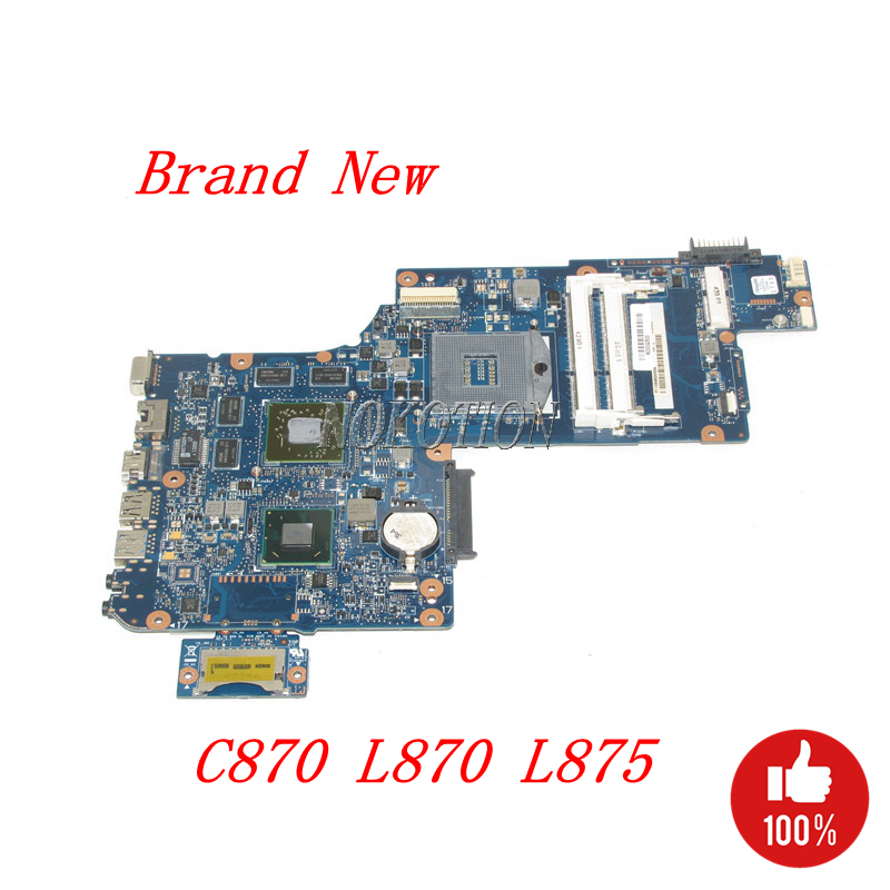 NOKOTION NEW H000043500 Main board For Toshiba Satellite L870 C870 Laptop Motherboard HM76 DDR3 HD7600M full testedNOKOTION NEW H000043500 Main board For Toshiba Satellite L870 C870 Laptop Motherboard HM76 DDR3 HD7600M full tested
