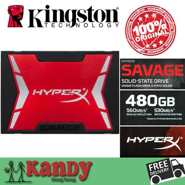 Kingston HyperX SSD Savage 500 ГБ hdd 480 ГБ SATA внешний жесткий диск дискотека duro экстерно ноутбук портативный твердый state disk