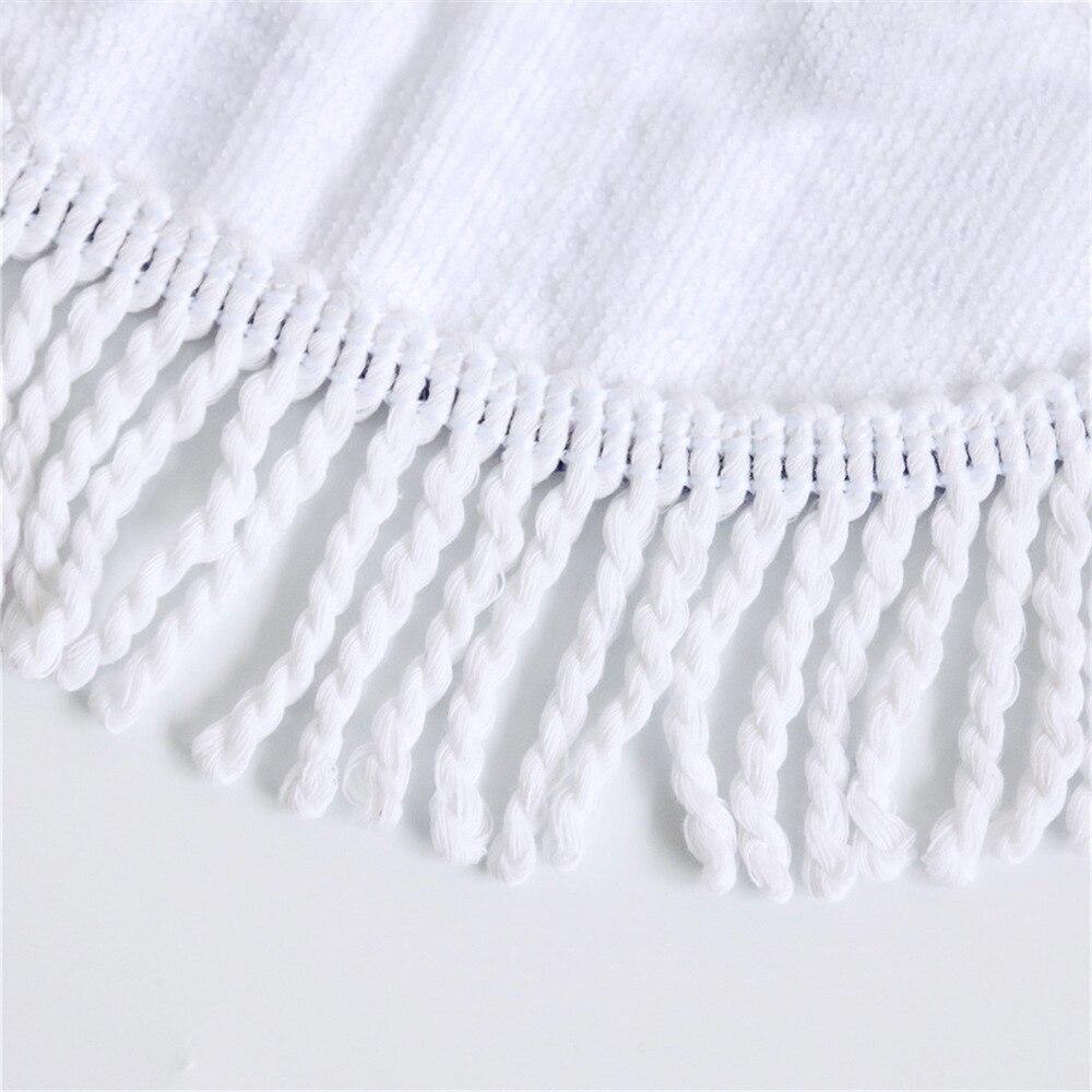 Rodada Toalha de Banho Toalha de Microfibra