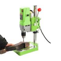 Mini Drilling Machine Drill Press Electric Drill DIY Metalworking 710W Electric Work Gear Portable High Accuracy Bench Drill