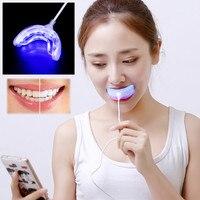 Professional Dental Whitening Kit Teeth USB Charging Whitening Instrument 2PCS Whitening Gel 5