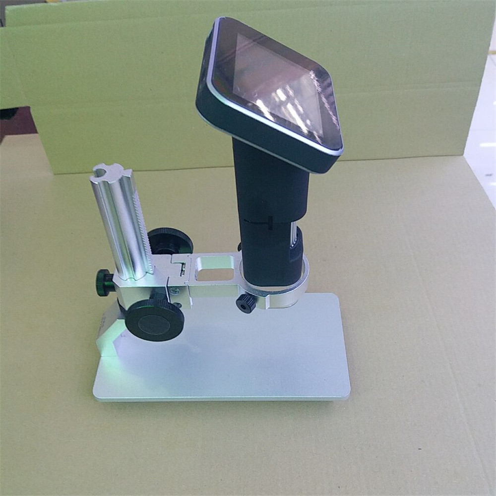 3.5 Inch Monitor 500X Digital Microscope Take Photo and Video CMOS Borescope