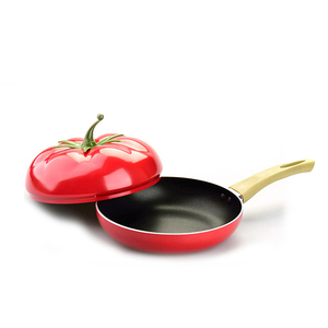 Image 5 - מכירה לוהטת פירות מחבת בישול סיר צבע סיר קרמיקה מחבת גריל מחבת אינדוקציה כיריים גז אלומיניום כלי בישול זרוק חינם
